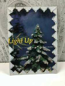 "Handmade ACEO ""Light UP"" Artist Trading Cards Original Art Unknown"