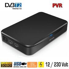 DYON Hunter - DVB-T2 Receiver H.265 mit HDTV Empfang 12/230 Volt incl. KFZ Kabel