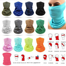 Face Mask Elastic Tube Bandana Cover Fashion Scarf Neck Multi-Use Wrap Gaiter