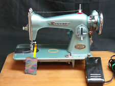 Revere Sewing Machine Heavy Duty Straight Stitch Leather Upholstery Denim SVCD