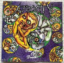 ATROCITY - art of death CD 1.PRESS 1992 Carcass Autopsy Carnage Asphyx Nocturnus