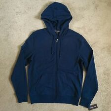 MICHAEL KORS Mens KR75FLZ00D Midnight Full-Zip Hoodie (Medium) NWT $99.50