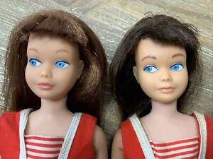 Vintage Skipper Brunette & Red Head Dolls -Pretty