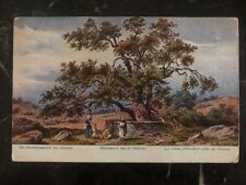 1915 Austria Picture Postcard Cover the abrahams oak at Hebron To England
