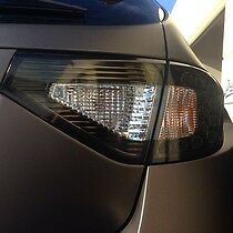 2008 2013 Subaru WRX STi Hatchback Overlay Tail light Tint. Smoke Color. JDM