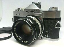 [NEAR MINT] KONICA FTA 35mm SLR Film Camera w/ HEXANON 57mm f/1.4 Lens JAPAN