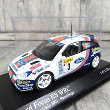 MINICHAMPS - 1:43 - Ford Focus RS WRC  Monte Carlo 2001 - OVP -#M27787