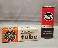 NOS 2 RCA 12SK7 Electron TUBES-  UNTESTED with Original Boxes