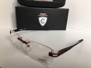 New Charriol Sport Titanium SP 23043A C7 54mm Rimless Men Eyeglasses Frame
