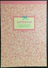 Flower Letter Pad Stationery - Cute Kawaii Korean Writing Paper - 45 pages