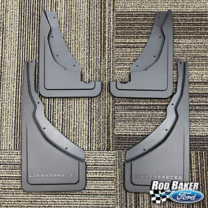 2021 Bronco Sport OEM Genuine Ford Black Molded Splash Guards Mud Flaps - 4pcs