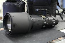 Nikon Zoom-NIKKOR 200-400mm f/4 SWM AF-S VR IF ED G Lens w/Case Exc #300102