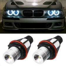 2x 5W LED Angel Eye Parking Car LED Light Bulb For BMW E39 E53 E60 E61 E63 E64