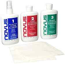 Novus Polish Kit Plastic and Acrylic Cleaner Polish Scratch Remover 8oz Eyeglass