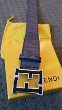 FENDI leather belt in box 26 - 36