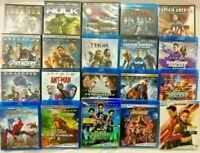 (20) Movie Lot, Marvel Infinity War Saga, 13 DVD, 11 Blu-ray + (9) Digital Code