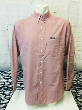 Chaps Long Sleeved Red Check Mens Shirt. Large. Mint.