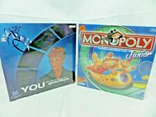 2 X board games The Weakest Link  + Monopoly Junior  NEW SEALED Family