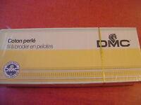 une boite de 10 boules coton perlé DMC grosseur N° 8 coloris N° 822  article 116