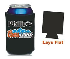 Coors Light 12oz Neoprene Can Cooler - Personalized for Free