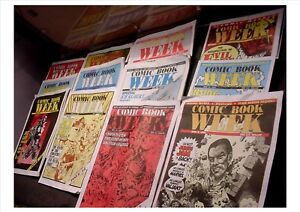 The Comic Weekly - Comic Book Week  Magazines Apr – June 1993 - # 1 to # 13