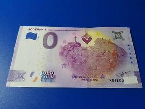"""0 Euro Schein """"BODENMAIS"""" 2021-1 Anniversary!!!"""