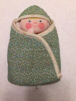 Fisher Price Toys Baby & Blanket Peek a Boo Puppet 422 vintage 1981 soft toy