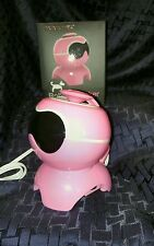 Live love music robot speaker pink