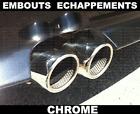 выхлопные трубы Хром for BMW E60 E61 SERIE 5 2003-2010 71mm M M5 520d 530i 525i