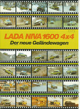 LADA - NIVA 2121 SAMARA 2108 2110 / DEUTSCH / catalogue brochure katalog - lot 4