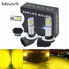 881 886 889 894 898 Led Fog Light Bulbs Kit 3000K Yellow Bright 35W 4000Lm New