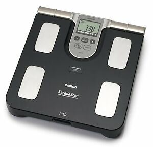 Omron BF508 Body Composition Monitor BMI Calculator Weighing Scale