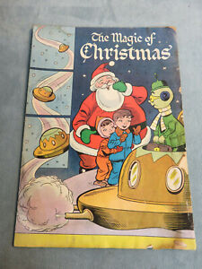 THE MAGIC OF CHRISTMAS (1955) George's Newport Promo Comic Golden Age
