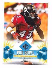 2008 SP Authentic Retail Pro Bowl Performers Troy Polamalu