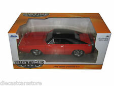 JADA 1970 DODGE CHARGER R/T ORANGE 1/24 DIECAST MODEL CAR 97593