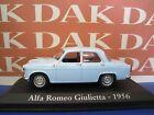 Die cast 1/43 Modellino Auto Alfa Romeo Giulietta 1956 by Ixo
