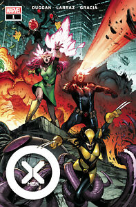 Marvel Comics X-MEN #1 (2021) Wraparound Cover