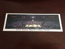 2007 Final Four Panoramic Picture Bookmark Card Atlanta Florida UCLA OSU Hoyas