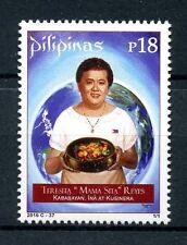 Philippines 2016 MNH Teresita Mama Sita Reyes 1v Set Cuisine Gastronomy Stamps