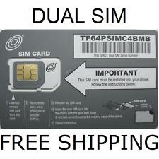 Net10 ORIGINAL DUAL SIM CARD  AT&T NETWORK Now $45@ Mo