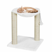 Baza Furniture Kitten Cat Tree House Play Tower Scratcher White Condo Post Bed