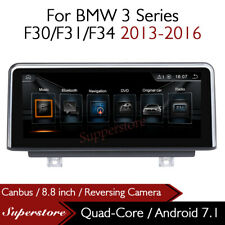 """Quad Core 8.8"""" Car Multimedia Player GPS Android 7.1 For BMW 3 Series 2013-2016"""