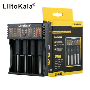 Lii-402 Smart Battery Charger USB /Output For A AA AAA 18650 26650 26500 SC  !