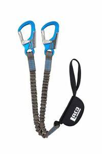Klettersteigset LACD Ferrata Pro Evo 2.0 blau Klettersteigbremse