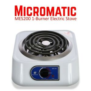 Micromatic Single Electric Stove MES-200