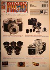 PHOTO DEAL Photodeal 78 Ihagee Exakta Rotor Kodachrome Praktisix Contarex Zeiss