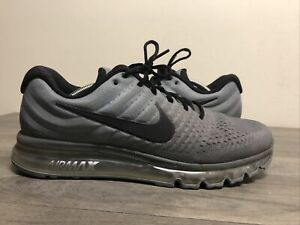 Nike Air Max 2017 Lace Up Athletic Running Shoes Men's Size US 12
