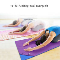 HO_ Non Slip Yoga Mat Cover Towel Blanket Gym Sport Fitness Exercise Pad Cushion