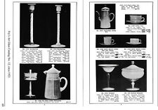 HC Fry in the 1920s Ovenware, Art Glass Catalog Reprint
