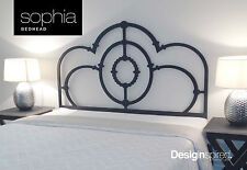 Cast Iron Inspired Bedhead / Headboard for King Ensemble Bed